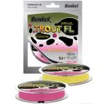 Полиэстер Benkei Trout PL 100m розовый fluo #04 (0,104mm), 0,91kg
