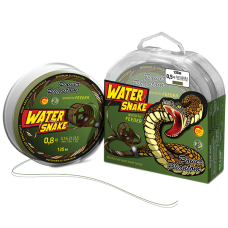 Шнур Power Phantom WaterSnake PE 135m, camo-green #0,8 (8,1кг), 0,14mm