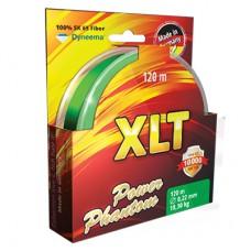 Шнур Power Phantom 4x, XLT, 120м, зеленый, 0,30мм, 27,4кг